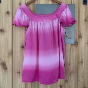 Lane Bryant 14/16 Pink Ombre Top
